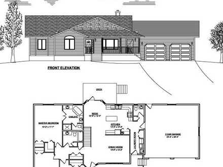 Small Ranch House Plans with Garage Country Ranch House Plans