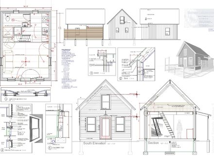 Tiny House Plan for Sale Vermont Architect Robert Swinburne Tiny Houses Design Plans