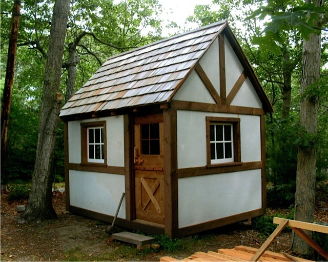 Tiny Timber Frame Cabin Small Cabin Plans