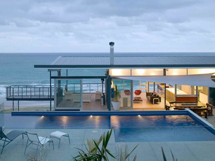 Tropical Beach House Modern Beach House