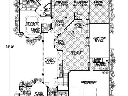 Tropical Caribbean Homes Floor Plans Most Tropical Islands Caribbean