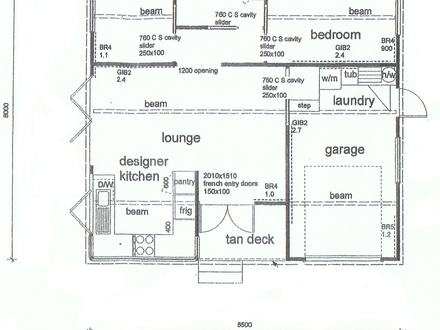 Two-Story Master Bedroom On First Floor First Floor Master Bedroom : Small House Plans, Small house plans