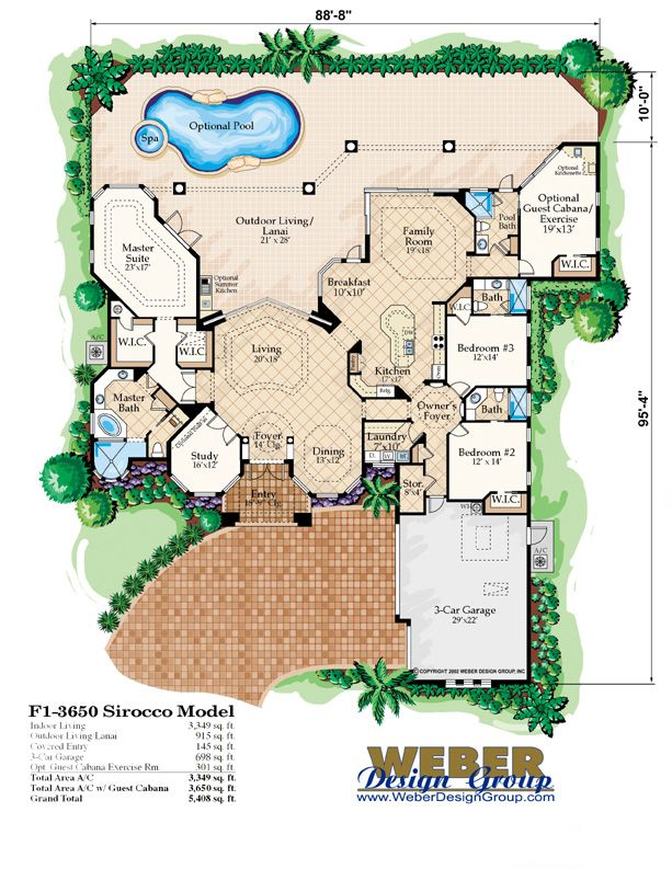 V shaped house plans waterfront sirocco house plan for V shaped house plans