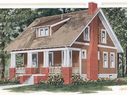 Sears kit house plans old sears roebuck home plans for Craftsman kit homes