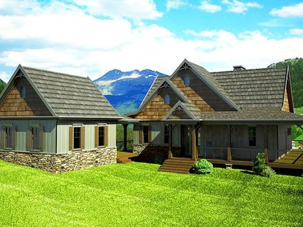 Wrap around Porch House Plans with Basement Farmhouse with Wrap around Porch