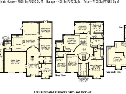 8 bedroom mansion floor plans 8 bedroom mansion house with for Mansion house plans 8 bedrooms