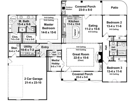 2000 Square Feet 2 Story House Plans 2000 Square Feet Store