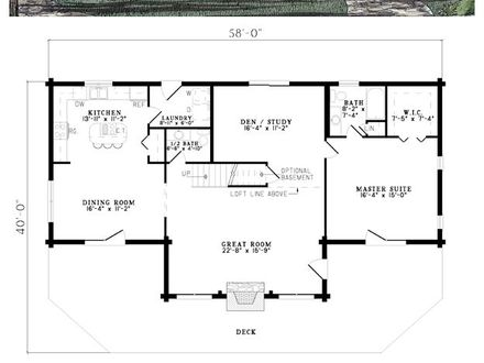 Small cabin floor plans with loft open floor plans small for House frame floor bed plans