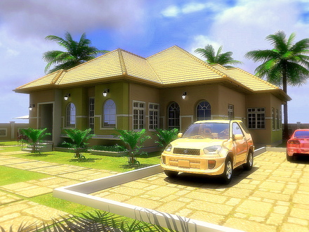 4 Bedroom Detached House 4 Bedroom Bungalow House Plans