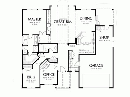40x50 house floor plans 40x60 barndominium floor plans for 40x40 garage plans