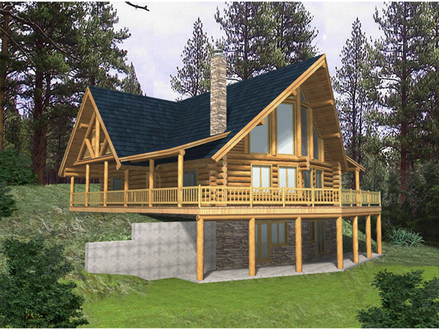 Affordable House Plans a Frame A Frame House Plans with Basement