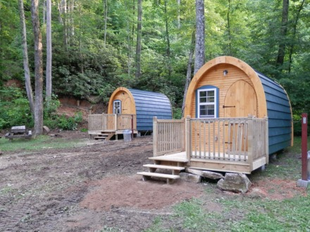 Arched Cabin Tiny House Photos Inside of an Arched Cabin
