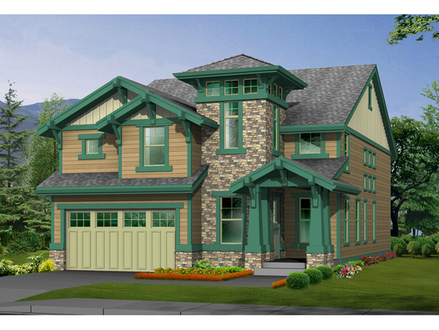 Cottage and bungalow house plans small house bungalow for Arts and crafts style home plans
