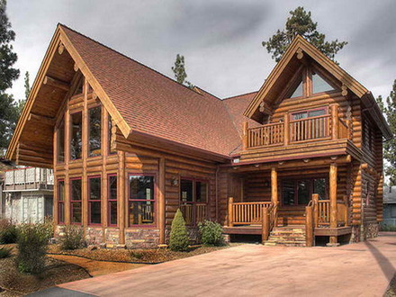 Big Log Cabin Homes Log Cabin Home
