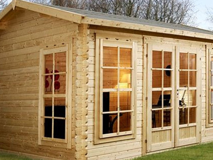 Small log cabin home designs small log cabin plans make for Building an affordable cabin