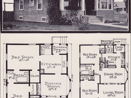 1930s Bungalow Floor Plans