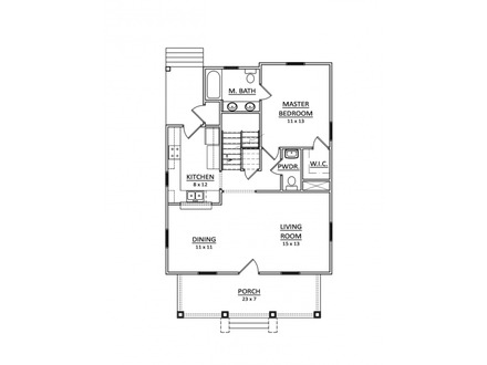 Small country house plans small cottage house plans tuscan for Small house plans with character