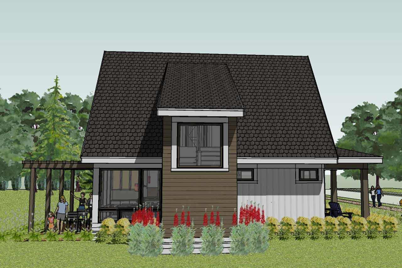 Bungalow house plans simple small house floor plans for Tiny bungalow house plans