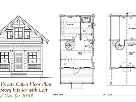 Cabin Open Floor Plans with Loft Inexpensive Small Cabin Plans