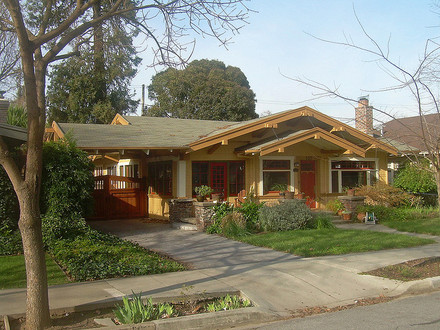 California Craftsman Bungalow Style Homes Craftsman Bungalow Windows