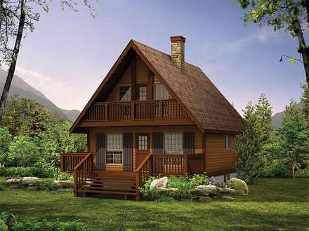 Chalet Style Log Home Plans Chalet House Plans