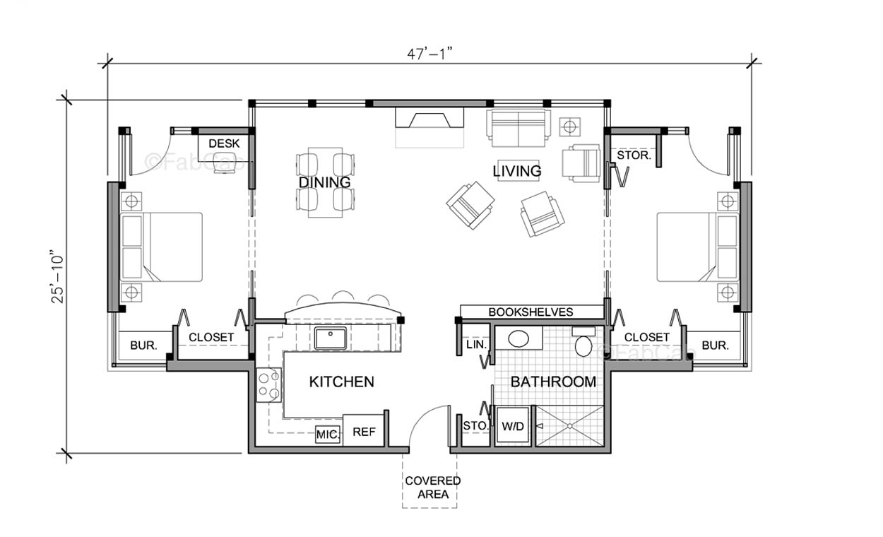 Cottage House Plans One Story Small One Story House Floor Plans