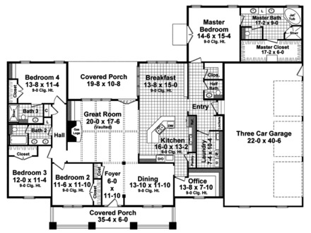 Craftsman Floor Plans Modular Home Craftsman House Floor Plans
