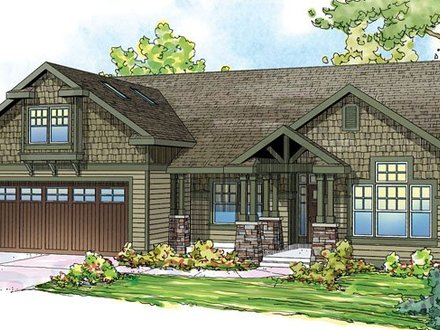 Craftsman Style Bungalow House Plans Craftman Style House