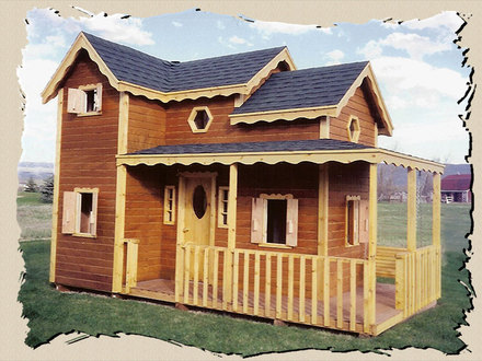 DIY Outdoor Playhouse Plans Outdoor Playhouse Plans