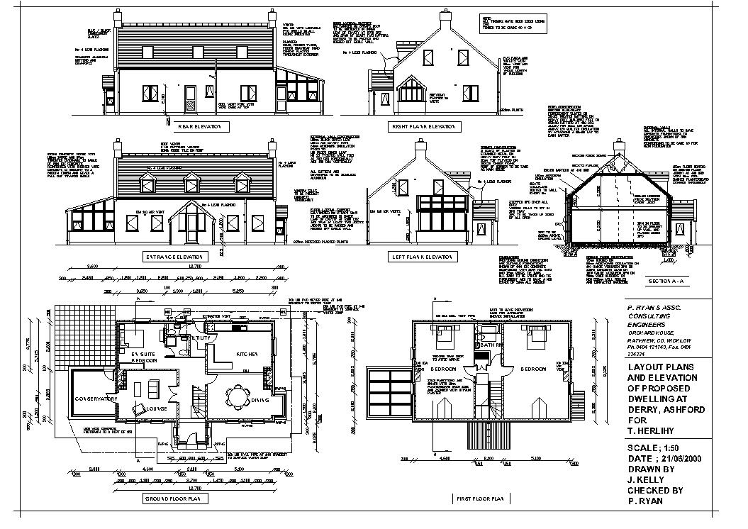Drawing house plans small two bedroom house plans house for Small house plan drawing