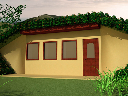 Earth Sheltered Design Earth Home Sheltered House Plans
