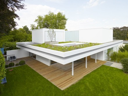 Flat Roof Style Homes Flat Roof Modern House Designs