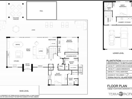 Hawaiian Plantation Style House Plans Old Hawaiian
