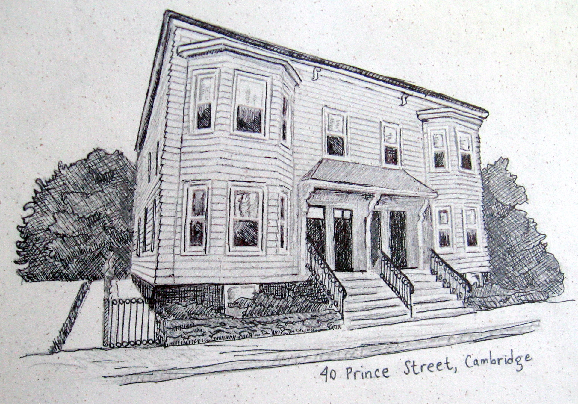 House Exterior Design Drawings Pencil Drawings of Houses ...