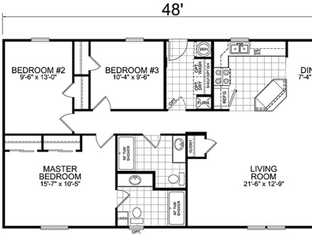 House Floor Plans 3 Bedroom 2 Bath Sims 3 House Floor Plans