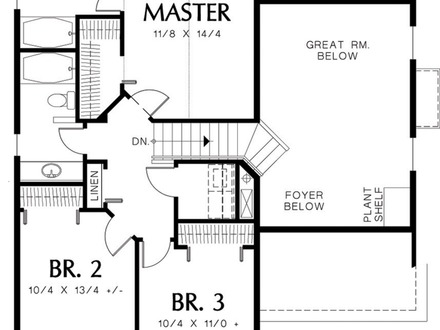 House for 1500 Sq FT Floor Plans Houses From the 1500 S