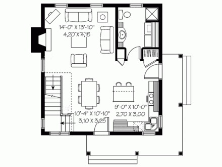 1200 sq foot house floor plan 1200 sq ft house plans 2 for House plans under 1200 square feet