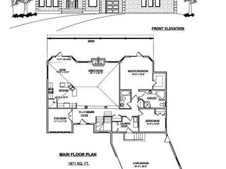 House Plans with Angled Garage Angled One Story House Plans