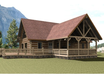Hunting Cabin Plans Mountain Cabin Plans Designs