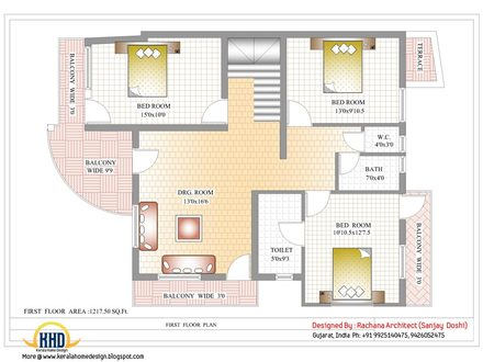 Indian Modern House Plans Indian House Designs and Floor Plans