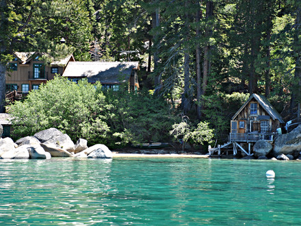 Lake Tahoe Cabins On the Beach Lake Tahoe Cabin in Woods