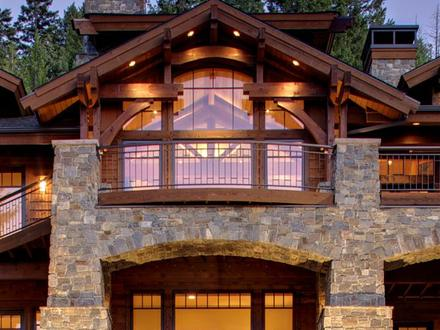 Lakefront Window Designs for Homes Lakefront Homes
