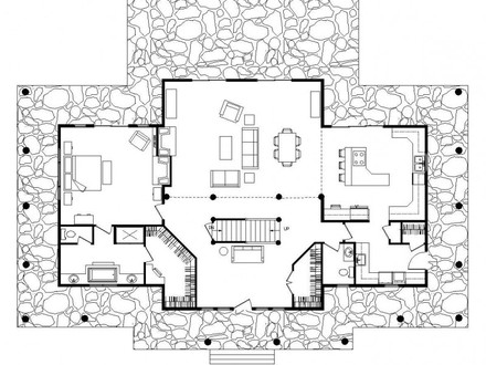 Log Cabin Floor Plans Simple Log Cabin Floor Plans