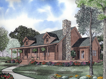 Log Cabin House Plans Log Cabin House Plans with Open Floor Plan