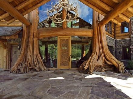 Luxury Log Cabin Home Best Luxury Log Home