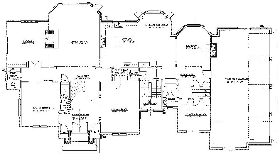 Mobile home floor plans double wide 20 x 48 new mobile for 5 bedroom mobile home plans