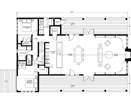 Modern Farmhouse Floor Plan Contemporary Farmhouse Floor Plans