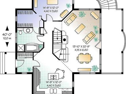 One Level House Floor Plans Single Story House