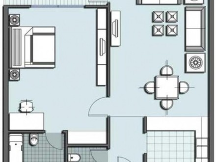 Open Floor Plans One Room Floor Plan For Small House Home Constructions
