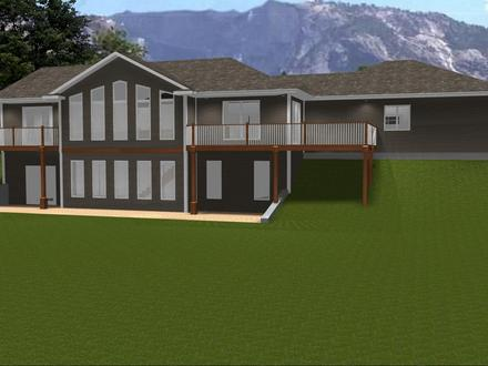 Ranch House Plans with Open Floor Plan Ranch House Plans with Walkout Basement